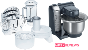 Scroll down for our Bosch MUM46A1 Food Mixer Review