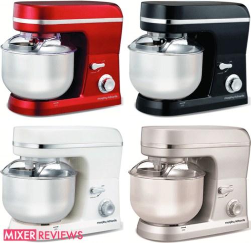 Morphy Richards Accents Stand Mixer Colours
